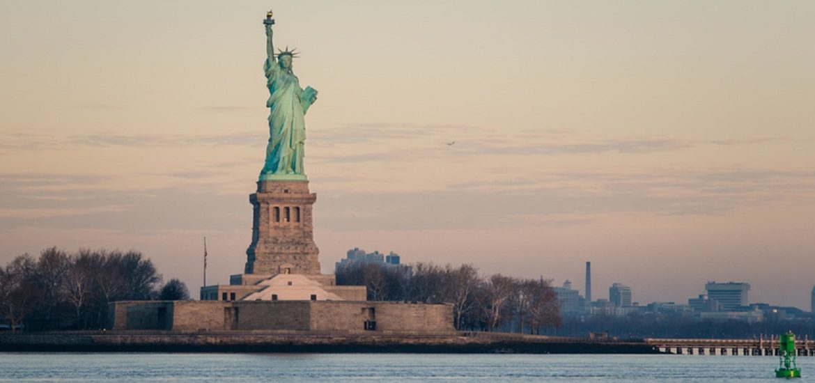 Statue of Liberty at Dawn